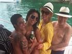 'Os amigos que já viram gostaram', diz Thammy Miranda sobre peitoral