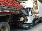Acidente entre caminhões deixa um morto em rodovia de Cachoeiro, ES