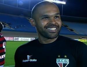 Márcio, goleiro do Atlético-GO (Foto: Reprodução/PFC)