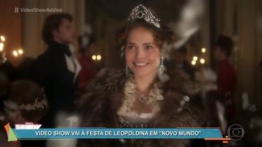 Rodrigo Simas mostra o luxo na festa de despedida da princesa Leopoldina