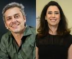 Alexandre Nero e Fernanda Torres | TV Globo