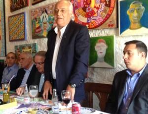 Lançamento da chapa de Wlademir Pescarmona e Luiz Gonzaga Belluzzo, Palmeiras (Foto: Felipe Zito)