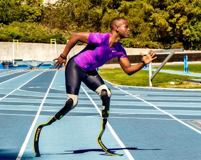 Blake Leeper velocista paralímpico dos Estados Unidos (Foto: Divulgação)