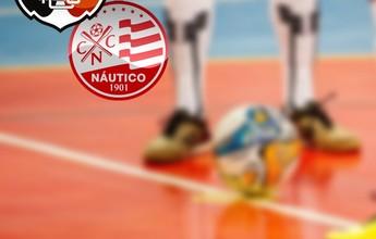 Santa Cruz vence o Náutico por 4 a 3 na primeira rodada do PE de Futsal