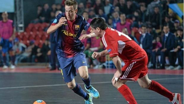 Barcelona Kairat Uefa Futsal Cup (Foto: Uefa/Divulgação)
