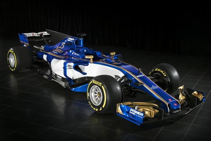 Sauber C36 Fórmula 1 2017 (Foto: Divulgação)