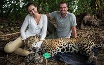 Casal visita o Pantanal