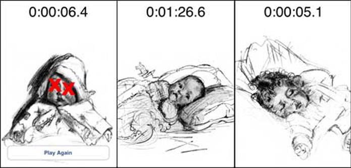 Baby Shaker é um app em que o jogador só vence quando consegue matar o bebê (Foto: Divulgação/Baby Shaker)