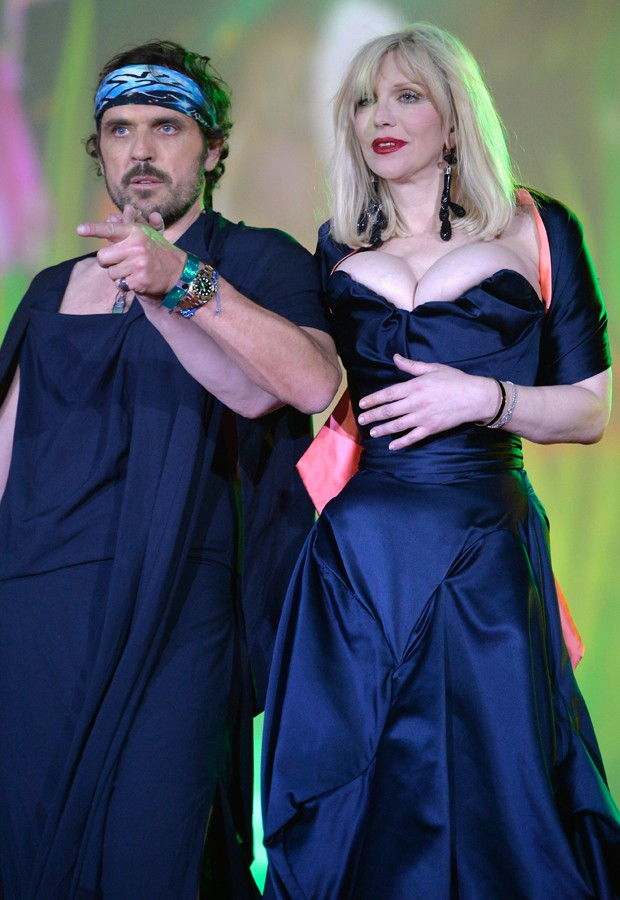 Andreas Kronthaler e Courtney Love (Foto: Getty Images)
