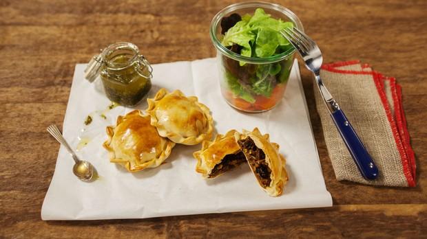 Cozinha prtica, episdio sopa, pastel de carne assado (Foto: Editora Panelinha/Gilberto Jr.)