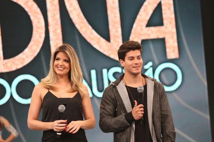 Mariana Santos e Arthur Arguiar retornam ao 'Domingão' (Foto: Carol Caminha/Gshow)