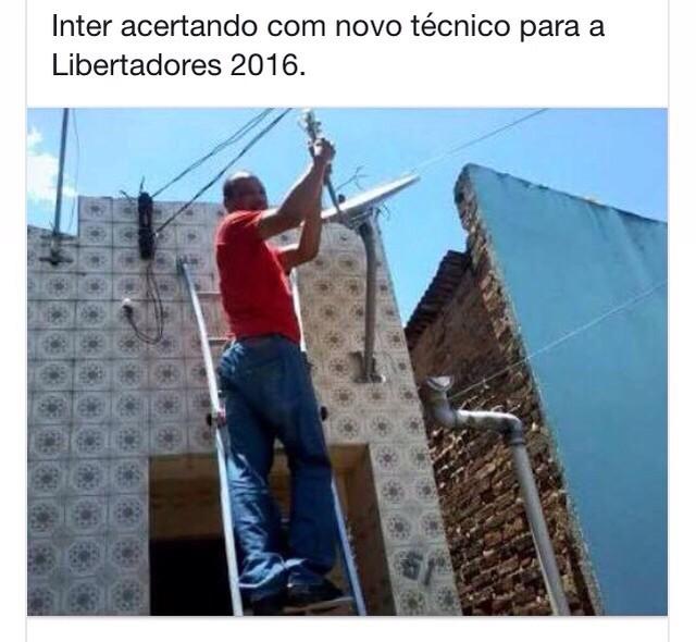 Corneta Inter Grêmio Brasileirão Libertadores (Foto: Reprodução)