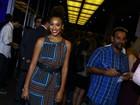 Sheron Menezzes e mais famosos vão a show no Rio