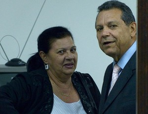 Rosilene Gomes, presidente da Federação Paraibana de Futebol, STJD (Foto: Vicente Seda / Globoesporte.com)