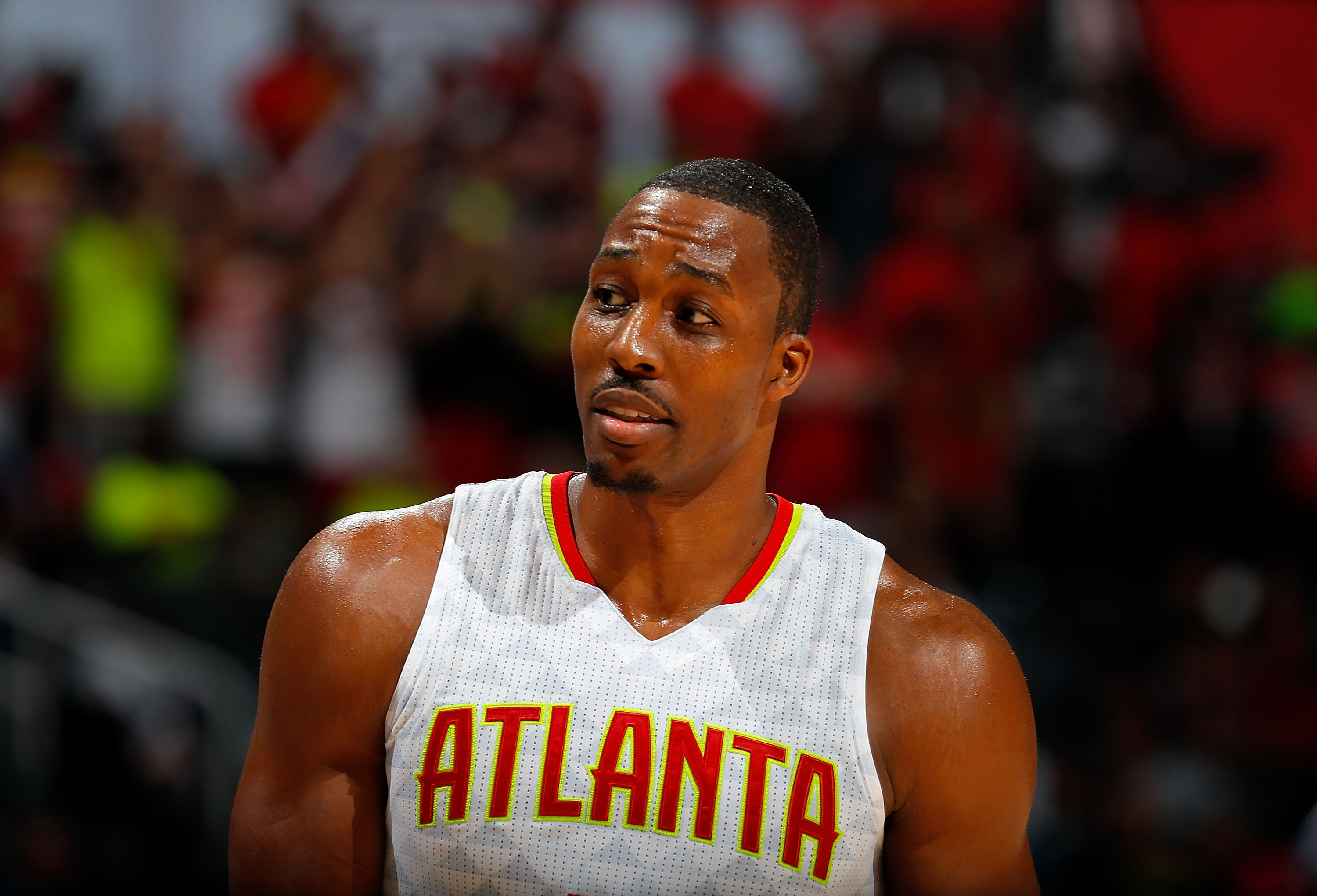 Dwight Howard, pivô do Atlanta Hawks (Foto: Getty Images/ Kevin C. Cox)