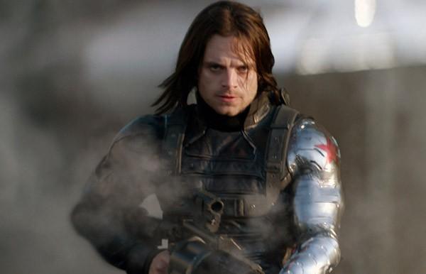 Sebastian Stan em 'Capitão América 2: O Soldado Invernal' (2014) (Foto: Divulgação)