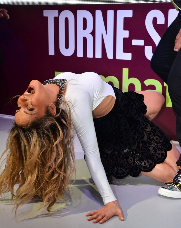 Claudia Leitte no Zumba Fitness (Foto: Caio Duran agnews)