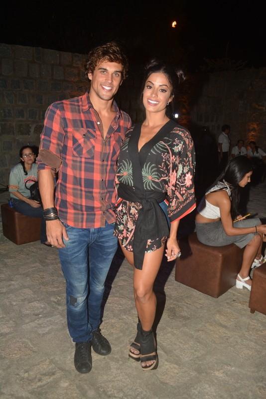 Aine Riscado e Felipe Roque (Foto:  Felipe Souto Maior/AgNews)
