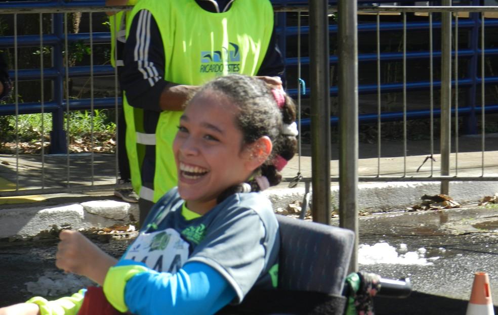 Karen Maria Pessato na Uberaba 10 km (Foto: Felipe Santos)