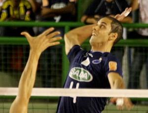 Seleção da Galera Superliga Masculina - Douglas Cordeiro (Cruzeiro) (Foto: Alexandre Arruda/CBV)