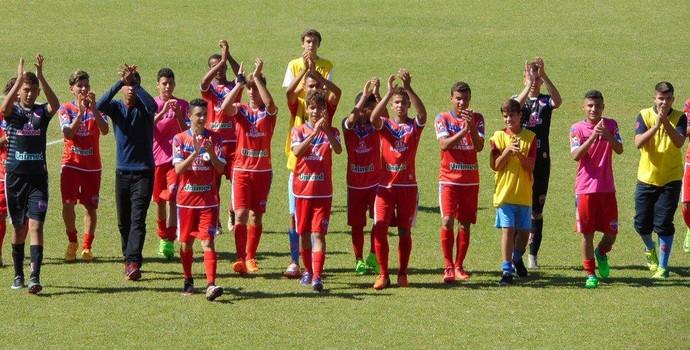 Grêmio Prudente sub-15 (Foto: Marcos Chicalé / Semepp, Divulgação)