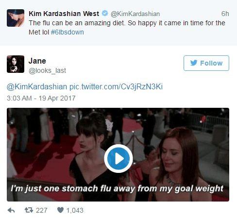 """Comparações com a cena do gala de """"O Diabo Veste Prada"""" inundaram a rede social  (Foto: Reprodução/ Twitter)"""