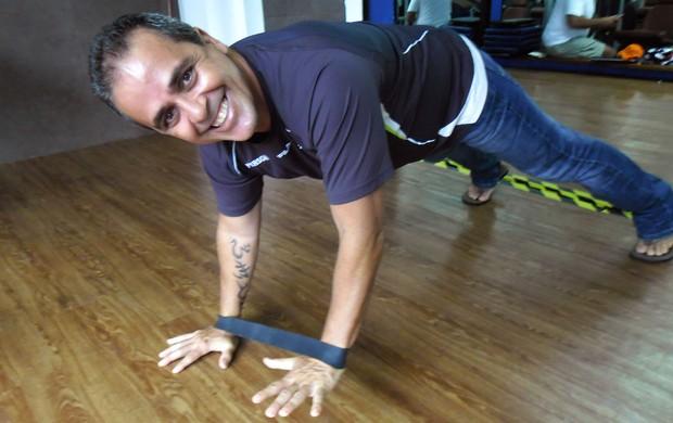 Cláudio Baiano treinador Big Brother BBB Eu Atleta (Foto: Bebel Clark)
