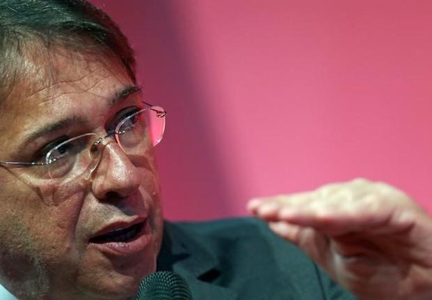 O presidente da Eletrobras, Wilson Ferreira Jr., durante fórum em São Paulo (Foto: Paulo Whitaker/Reuters)