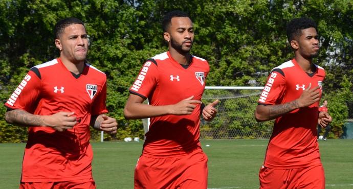 Bruno Wesley Ewandro São Paulo (Foto: Site oficial do SPFC)