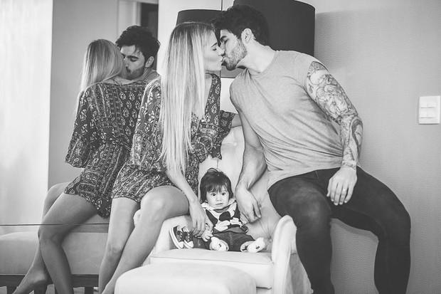 Rodrigão posta foto com a família  (Foto: Reprodução / Instagram)