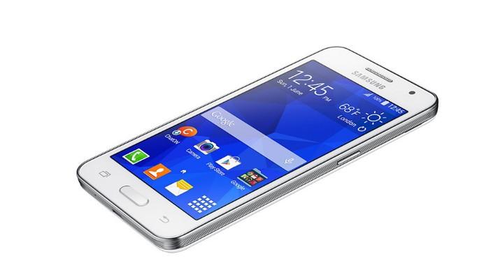 Tela do Galaxy Core 2 tem resolução fraca (Foto: Divulgação/Samsung)