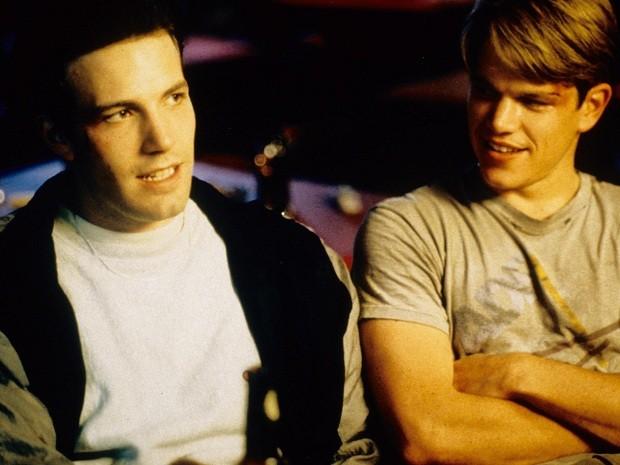 Ben Affleck e Matt Damon em 'Gênio indomável' (1997) (Foto: Divulgação)