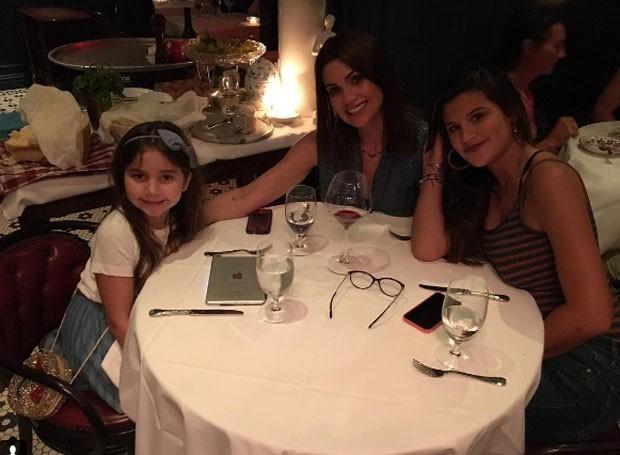 Olívia, Flávia Alessandra e Giulia Costa (Foto: Reprodução)