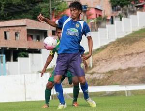 Nacional-AM juvenil (Foto: Anderson Silva/Globoesporte.com)