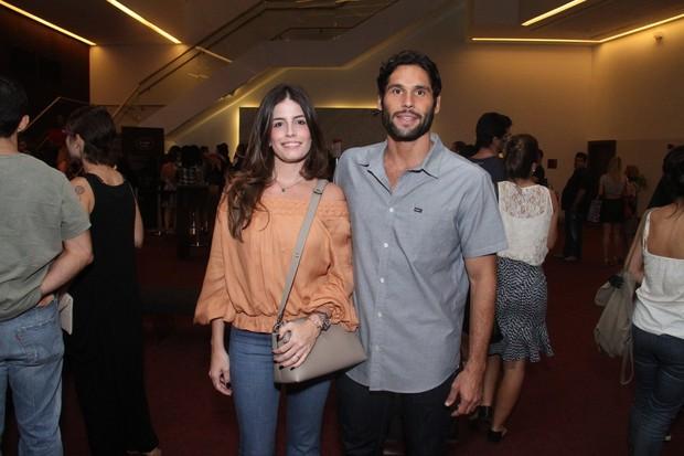Dudu Azevedo e namorada (Foto: Thyago Andrade- Brazilnews)
