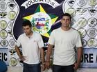 Polícia prende suspeitos de cometer homicídios no município de Pilar