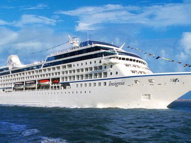 Insignia, da Oceanis Cruises, fará escala em Santos (Foto: Divulgação/Oceanis Cruises)
