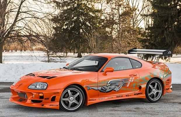 Toyota Supra pilotado por Paul Walker em Velozes & Furiosos é leiloado (Foto: Reprodução)