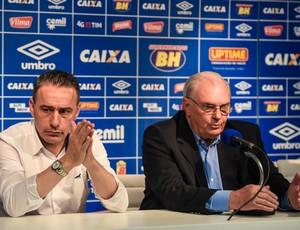 Paulo Bento; Cruzeiro; Gilvan de Pinho Tavares (Foto: Light Press)