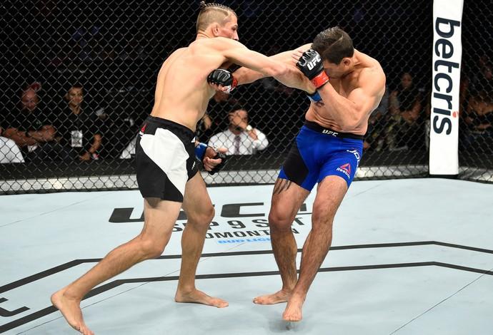 Niko Price x Alan Jouban UFC México (Foto: Getty Images)
