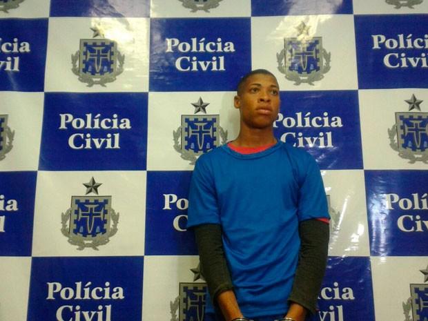 Suspeito de matar idosa no bairro de Amaralina, em Salvador, é preso (Foto: Arquivo Pessoal)
