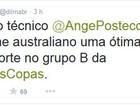 No Twitter, Dilma dá boas-vindas à seleção da Austrália para a Copa