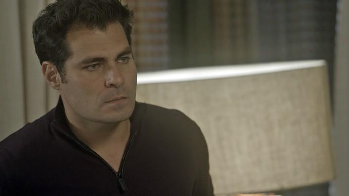 Ciro diz que está cansado de tudo (Foto: TV Globo)