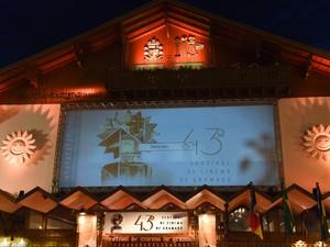 Palácio dos festivais é a sede do Festival de Cinema de Gramado, RS (Foto: Cleiton Thiele/Pressphoto)