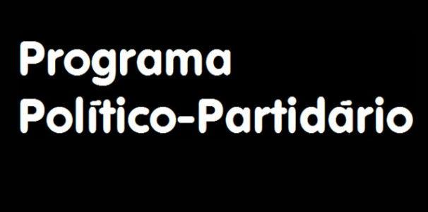 Programa Político Partidário (Foto: Reprodução/TV Globo)