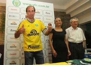 paulo baier ypiranga apresentação gauchão (Foto: Divulgação)