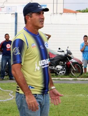 Paulo Moroni, treinador do Parnahyba (Foto: Josiel Martins)