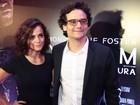 Wagner Moura e Alice Braga divulgam filme de ficção-científica no Rio