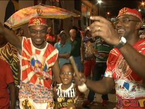 Animação marca presença no carnaval de São Luís (Foto: Reprodução/TV Mirante)