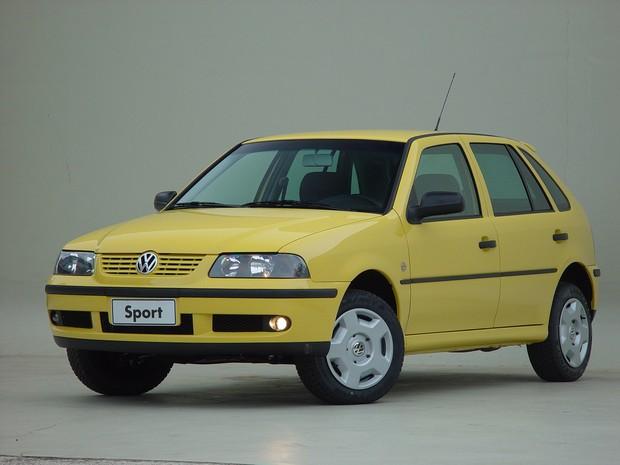 Volkswagen Gol Sport 2002 (Foto: Divulgação)